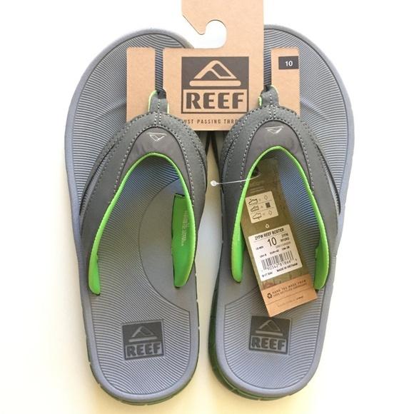 8a02ee4b1a58 REEF Boster Men s 10 Slip-On Flip-Flop Sandals Gel
